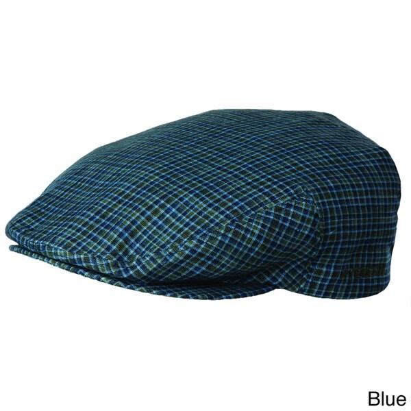 Stetson Men's 'Ivy' Kent Plaid Linen Hat