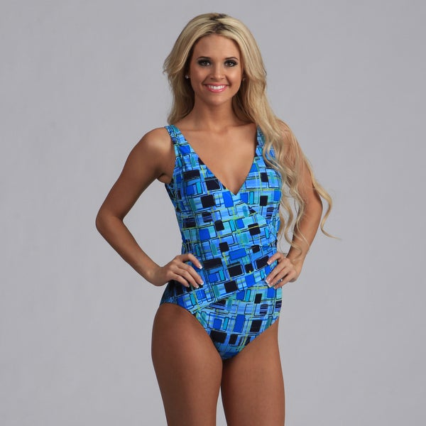 Gottex Women's Geometric One-piece Swimsuit