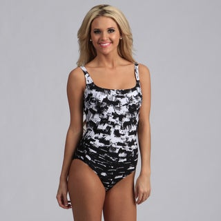 Gottex Women's Paint Stroke One-piece Swimsuit