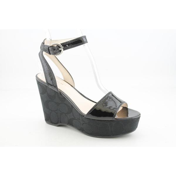 Coach Women's 'Nalene' Patent Leather Sandals