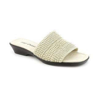 Easy Street Women's 'Miami' Synthetic Sandals - Wide (Size 11)