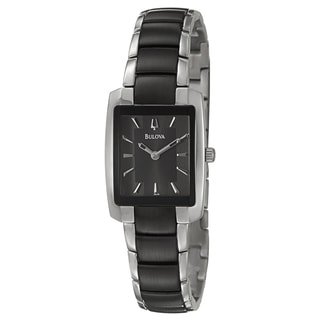 Bulova Women's 'Dress' Stainless Steel Watch