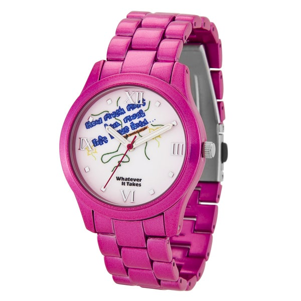 Whatever It Takes Women's 'Pink' Artwork Watch