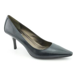 Calvin Klein Women's 'Dolly' Leather Dress Shoes - Wide
