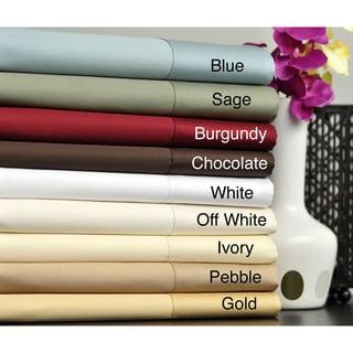 Egyptian Cotton 630 Thread Count Deep Pocket Sheet Set