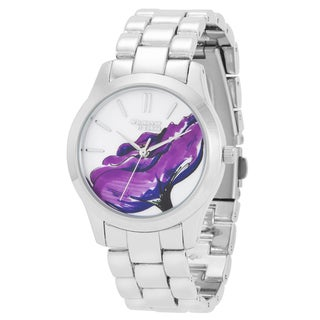 Whatever It Takes Women's 'Naomi Campbell' Artwork Watch