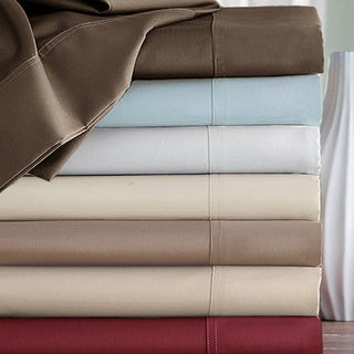 Royal Luxe Egyptian Cotton 600 Thread Count Sateen Sheet Set