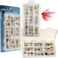 Silver Lake Freshwater Flies (55 pack)
