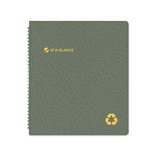 Recycled 2013-2014 Monthly 9 x 11 Black Planner