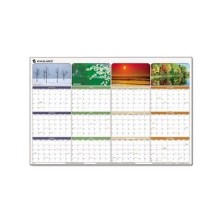 Seasons In Bloom Erasable Laminate 2013 Planner