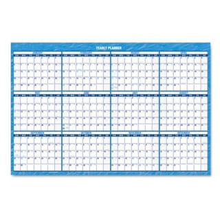Recycled Erasable 2013 Horizontal Wall Planner