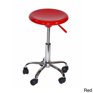 Offex Artisan Adjustable Drafting Stool with Casters