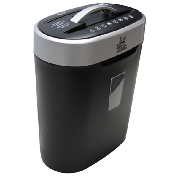 Sharp Tooth 8-Sheet Cross-cut Light Duty Paper Shredder