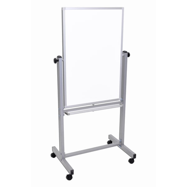 Double-Sided Portable Magnetic White Board Presentation Easel