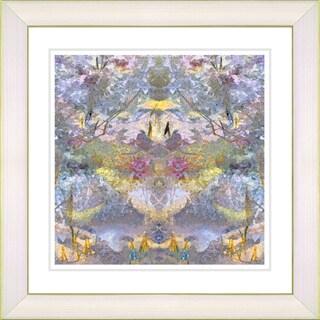 Studio Works Modern 'Garden Bouquet - Violet' Framed Print