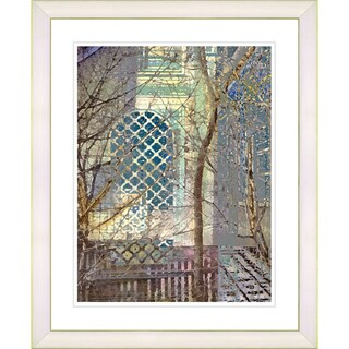 Studio Works Modern 'My Street in Summer' Framed Print