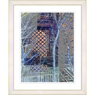 Studio Works Modern 'My Street in Winter' Framed Print