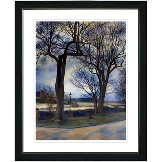 Studio Works Modern 'Country Lane' Framed Print