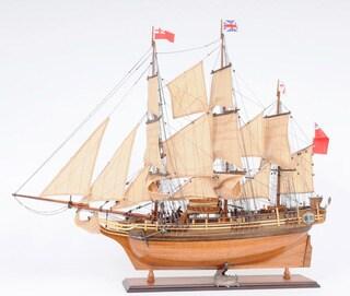 Old Modern Handicrafts HMS Bounty New Model Ship
