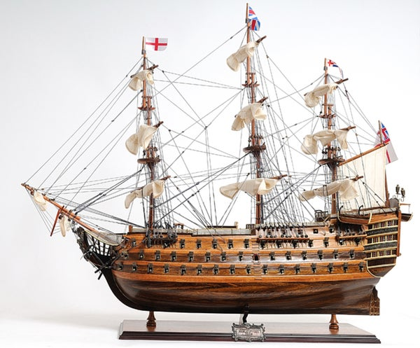 Old Modern Handicrafts HMS Victory Exclusive Edition Model Ship 10823084