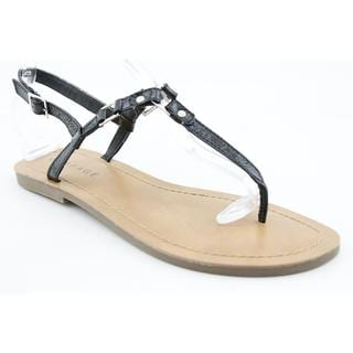 Rampage Women's 'Piera' Faux Leather Sandals (Size 11)