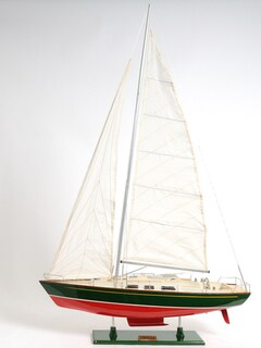 Old Modern Handicrafts Omega Yacht Model Ship