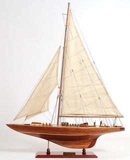 Old Modern Handicrafts Endeavour Small Model Ship