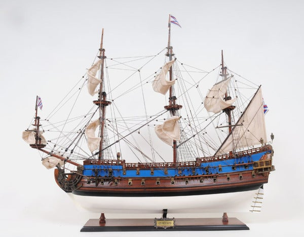 Old Modern Handicrafts Goto Predestination Painted Model Ship