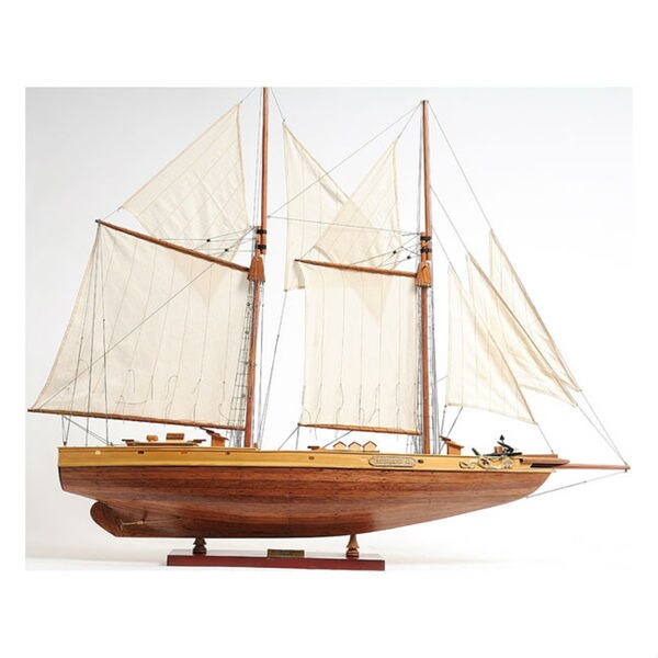 Old Modern Handicrafts Bluenose II Model Ship 10823138
