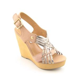 Steve Madden Women's 'Turnpyke' Leather Sandals (Size 8.5)