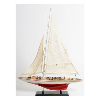 Old Modern Handicrafts Endeavour Yacht Model Ship