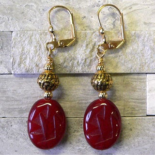 'Tahlia' Glass Earrings