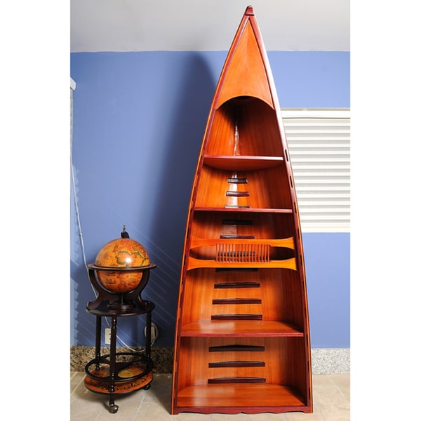 Old Modern Handicrafts Canoe Book Shelf 10823185