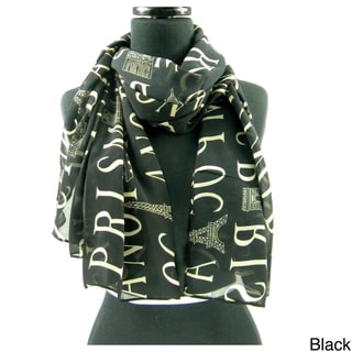 'Paris' Spring/Summer Fashion Scarf