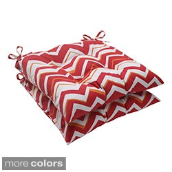Pillow Perfect Tempo Polyester Tufted Outdoor Seat Cushions (Set of 2)