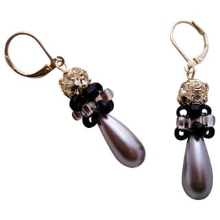 Elegant Rhinestone Teardrop Earrings