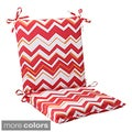 Pillow Perfect Tempo Polyester Squared Outdoor Chair Cushion