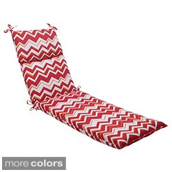 Pillow Perfect Tempo Polyester Outdoor Chaise Lounge Cushion
