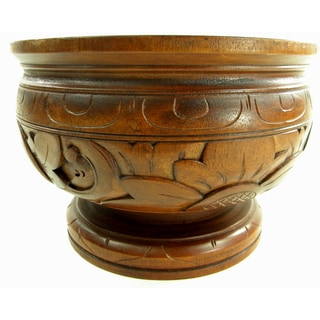 Hand Carved Trinket/Coin Bowl