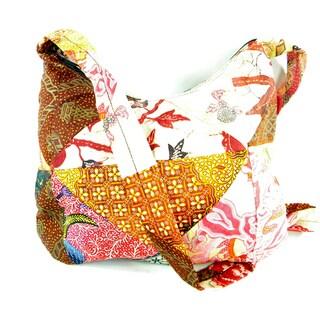 Batik Patchwork Messenger Style Bag
