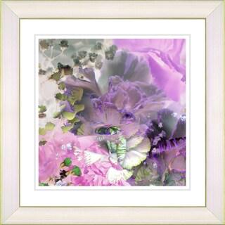 Studio Works Modern 'Pink Carnation' Framed Print
