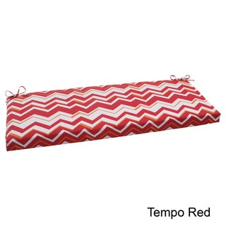 Pillow Perfect Tempo Polyester Outdoor Bench Cushion