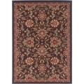 Lagoon 104593 Transitional Charcoal Area Rug (5' x 7')