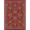 Lagoon 104590 Transitional Red Area Rug (7'6 x 9'10')