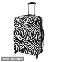 American Travel 29-inch Zebra Expandable Lightweight Hardside Spinner Upright