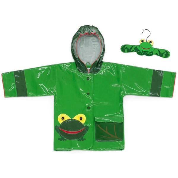 Kidorable Children's Frog Printed Rain Coat