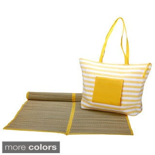 Worthy Beach Bag with Mat