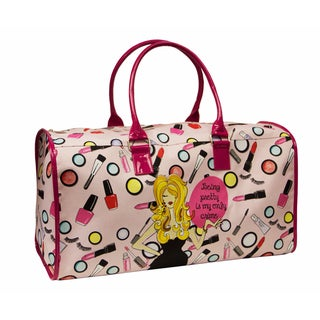 American Atelier Working Everyday Girls 'Being Pretty' Overnighter Duffel Bag