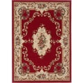 Lagoon 104610 Traditional Red Area Rug (7'6 x 9'10)