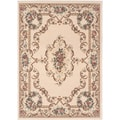 Lagoon 104612 Traditional Beige Area Rug (5' x 7')